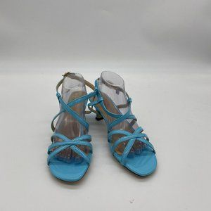 XYD Sexy Fashion Strappy Pumps Rhinestones Sandals